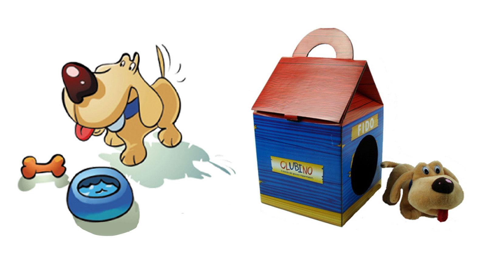 Peluche personalizzato CLUBINO DOG - BY UBI BANCA