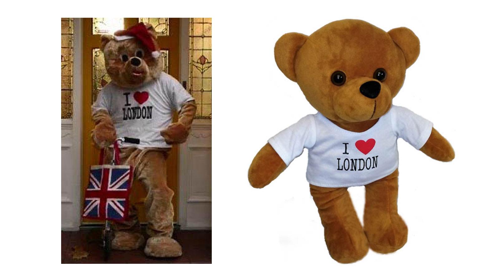 Peluche promozionale LONDON BEAR